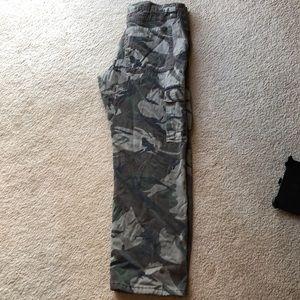 Wrangler fleeced lined cargo pants